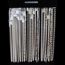 © Goldmine Jewellery - Sterling Silver Chains